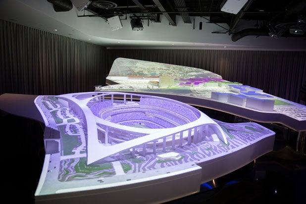 LA Stadium Model Room
