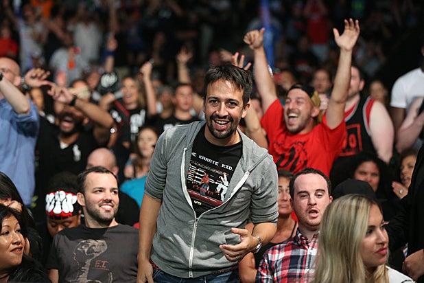 Lin Manuel Miranda WWE SummerSlam