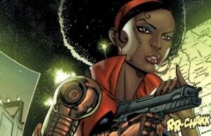 MIsty Knight- Marvel Comics
