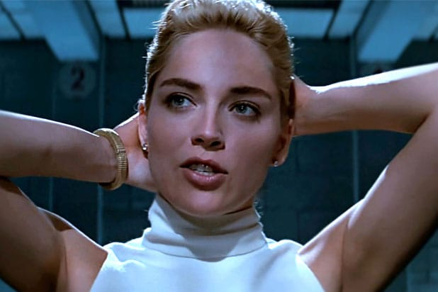 Sharon Stone Shares a Sexy Scene from Her Basic Instinct Audition Tapes""