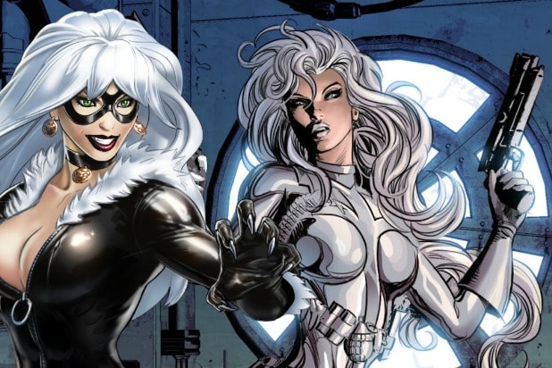 Silver and Black Black Cat Silver Sable