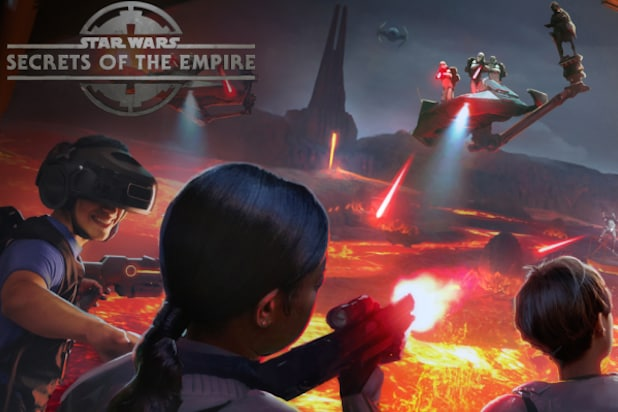 Star Wars Virtual Reality Attraction Set For Disney Resorts