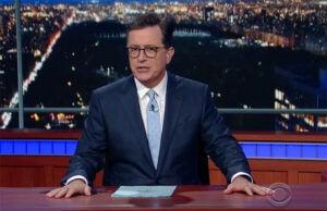 Stephen Colbert The Late Show Stephen Miller