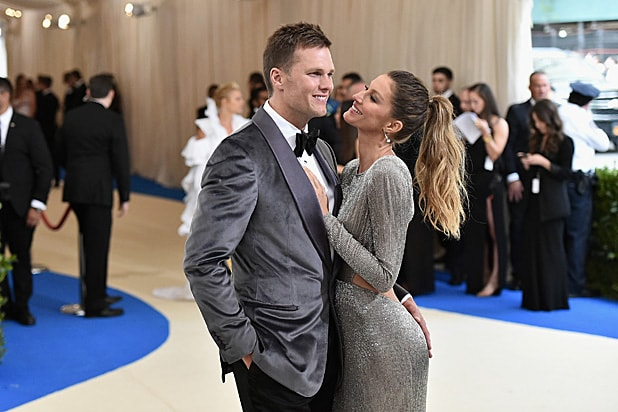 Tom Brady and Gisele Bundchen Met Gala