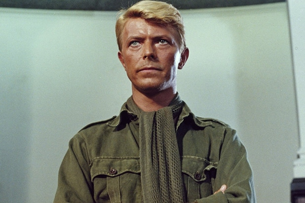 David Bowie in Merry Christmas, Mr. lawrence