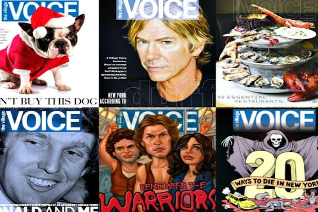 The Village Voice Shutters Print Edition