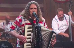 Weird Al Yankovic on 'Last Week Tonight'