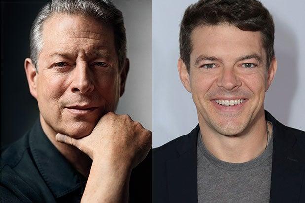 Jason Blum Al Gore Gotham Awards