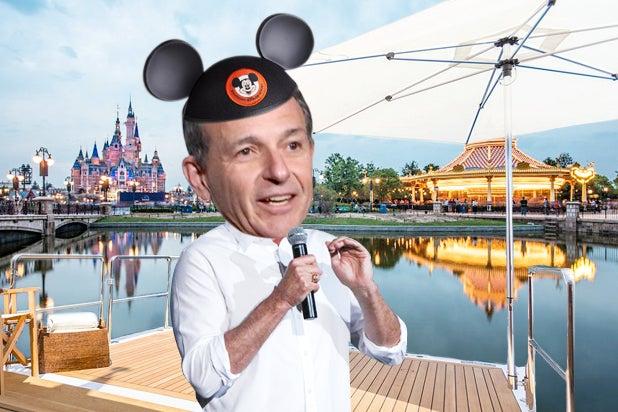Bob Iger Moguls on a Boat