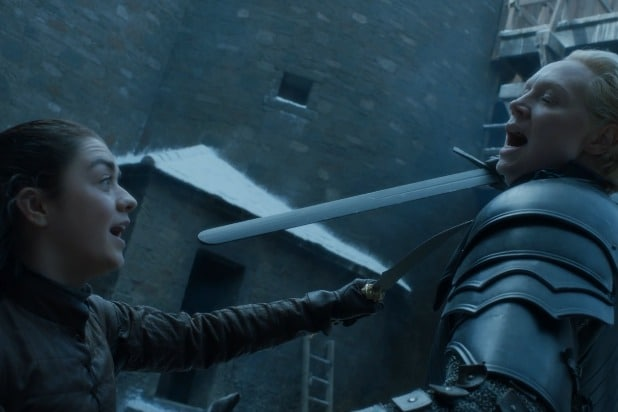 game of thrones arya vs brienne best fight scenes