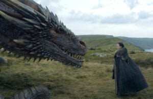 game of thrones eastwatch jon and drogon the dragon has three heads