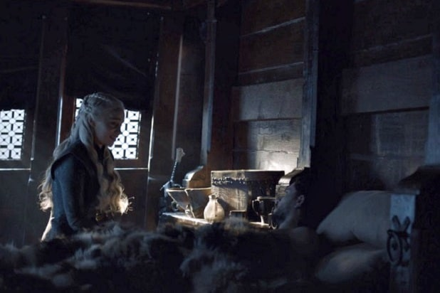 game of thrones jon daenerys bend the knee