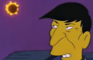 Simpsons Leonard Nimoy eclipse