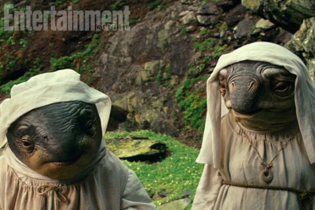 "Porg Caretakers - ""Star Wars: The Last Jedi"""