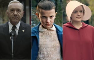 House of Cards Stranger Things Handmaid's Tale