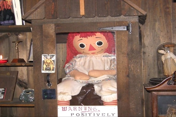 the conjuring verse fact check ed lorraine real annabelle