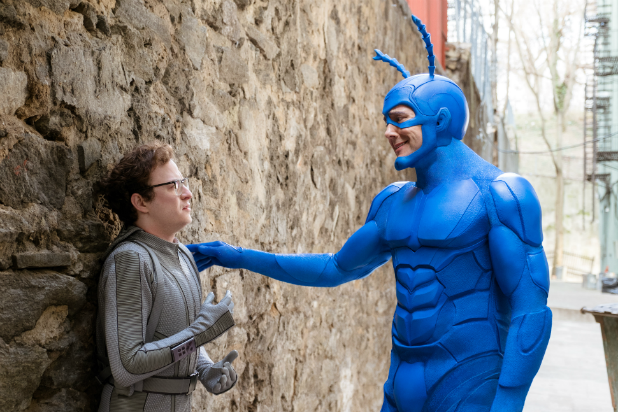 The Tick Peter Serifanowicz Griffin Newman