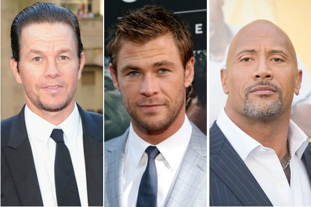 Famous hollywood actors male