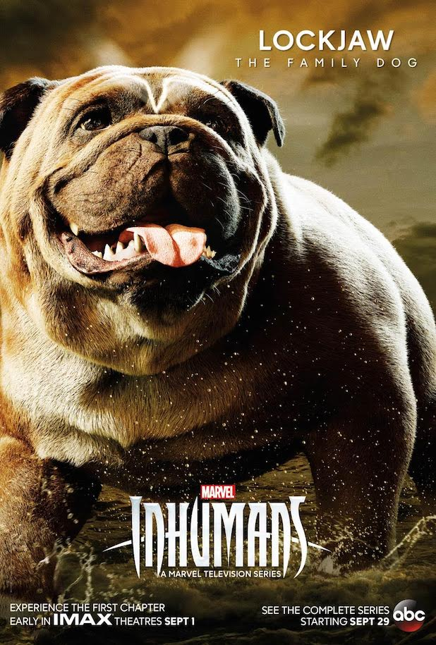 Inhumans Lockjaw Poster