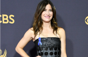Kathryn Hahn at the 2017 Emmys