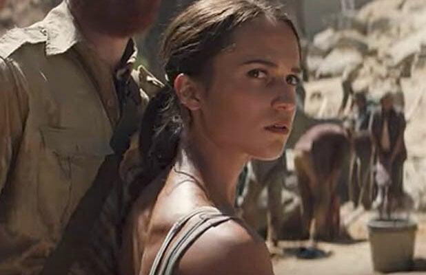 Alicia Vikander Tomb Raider trailer