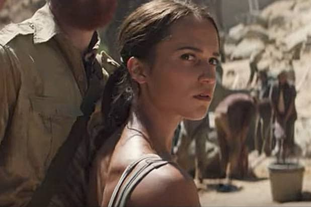 Alicia Vikander Tomb Raider trailer