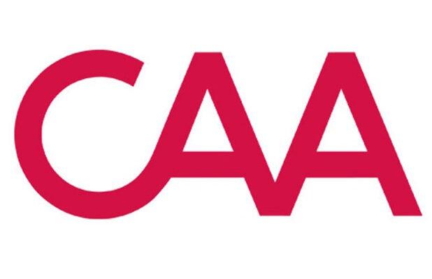 CAA logo gender parity creative artists agency