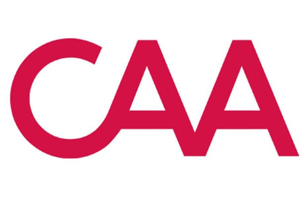 CAA logo gender parity creative artists agency