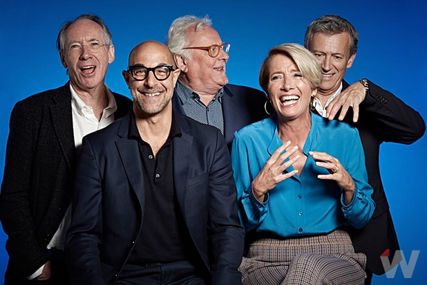 CHILDREN ACT GROUP Stanley Tucci Emma Thompson Ian McEwan Duncan Kenworthy Richard Eyre