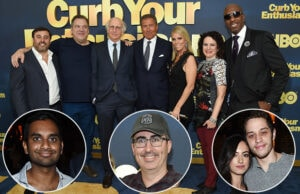 "'Curb Your Enthusiasm"" celebrated its Season 8 premiere in New York on Wednesday night, September 27. (Getty Images)"