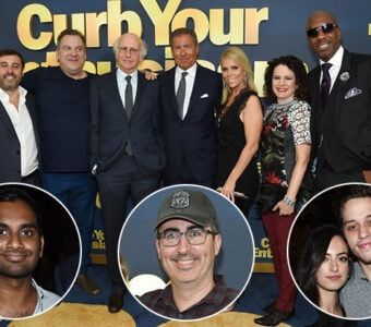 """'Curb Your Enthusiasm"""" celebrated its Season 8 premiere in New York on Wednesday night, September 27. (Getty Images)"""