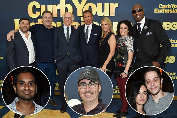 e7986b24d50 'Saturday Night Live,' Netflix and Comedy Central Stars Unite at HBO's  'Curb Your Enthusiasm' Premiere (Photos)