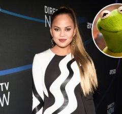 Chrissy Teigen Kermit