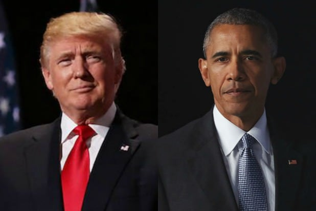 Donald Trump Barack Obama