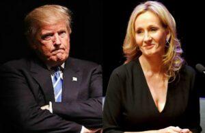 Donald Trump JK Rowling