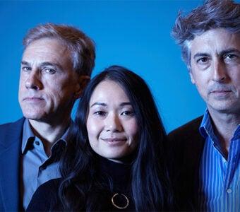 Downsizing Christoph Waltz, Hong Chau and Alexander Payne