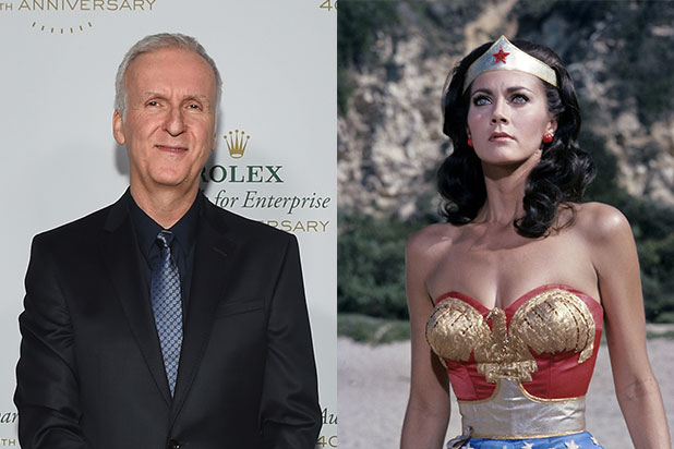 James Cameron Lynda Carter Wonder Woman