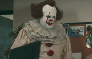 James Corden Pennywise