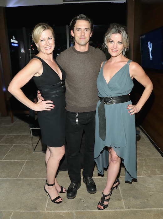 SVP and CCO of Audi of America Jeri Ward, Milo Ventimiglia
