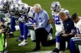 Jerry Jones Dallas Cowboys Take A Knee