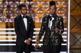 Lena Waithe Aziz Ansari Emmys