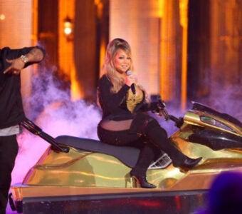 Mariah Carey at the Hip Hop Honors