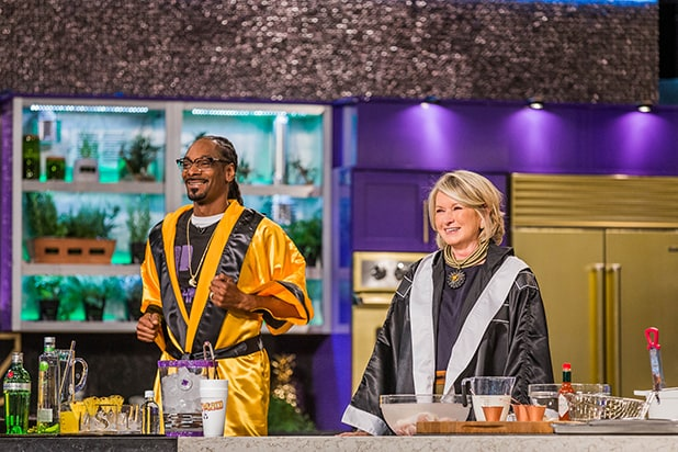 Martha and Snoop's Potluck Dinner