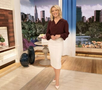 Megyn Kelly on her new 'Today' show set