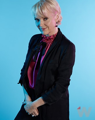 Miranda Richardson stronger