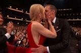 Nicole Kidman Alexander Skarsgard Kiss Emmys