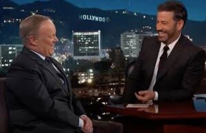 Sean Spicer on Kimmel