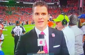 Sergio Dipp on ESPN's 'Monday Night Football