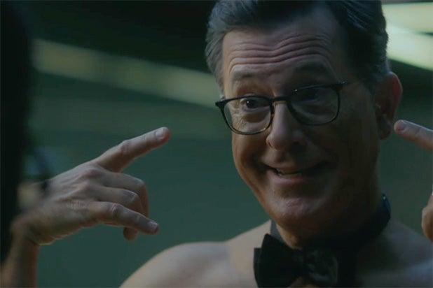 Stephen Colbert Emmys Westworld