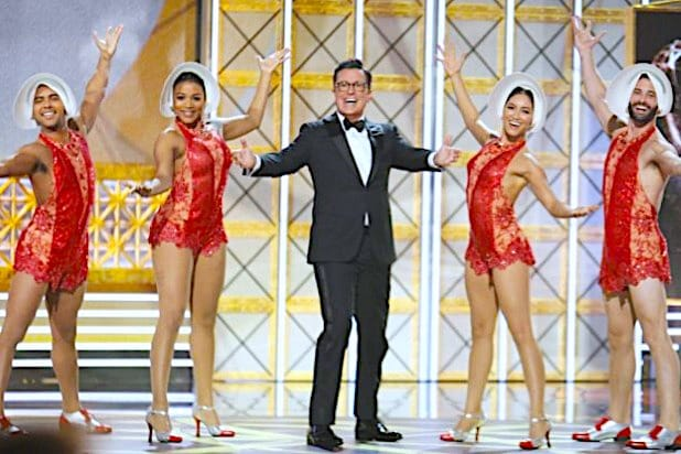 Stephen Colbert Emmys Opening 2017